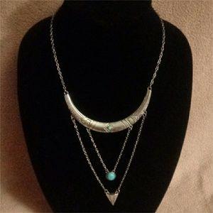Jewelry - Sliver Bono Tribal Necklace